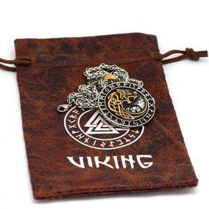 Nordic Viking Stainlesss Steel Wolf